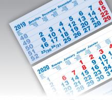 БОЛД 2+0 офсетные миди 3-сп (3 х 335*160) голубой